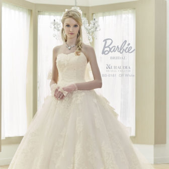 Barbie BRIDAL :バックフリル