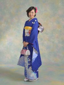 青しぼり桜(青)