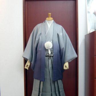 【紋付】家康×【袴】黒シルバー