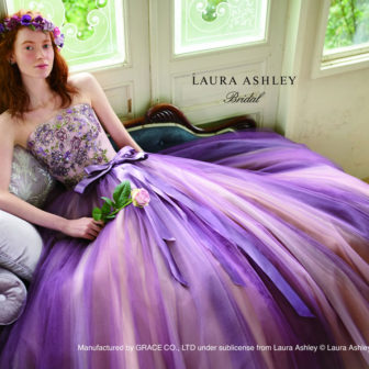 LAURA ASHLEY:パープルアシュレイ