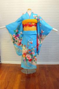 5400-028-00M:ブルー花づつみ:¥15,000(税別)
