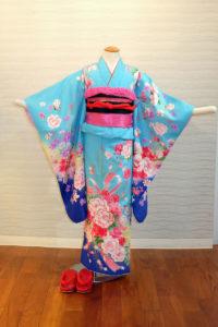 5400-038-00M:ブルー地花束:¥20,000(税別)